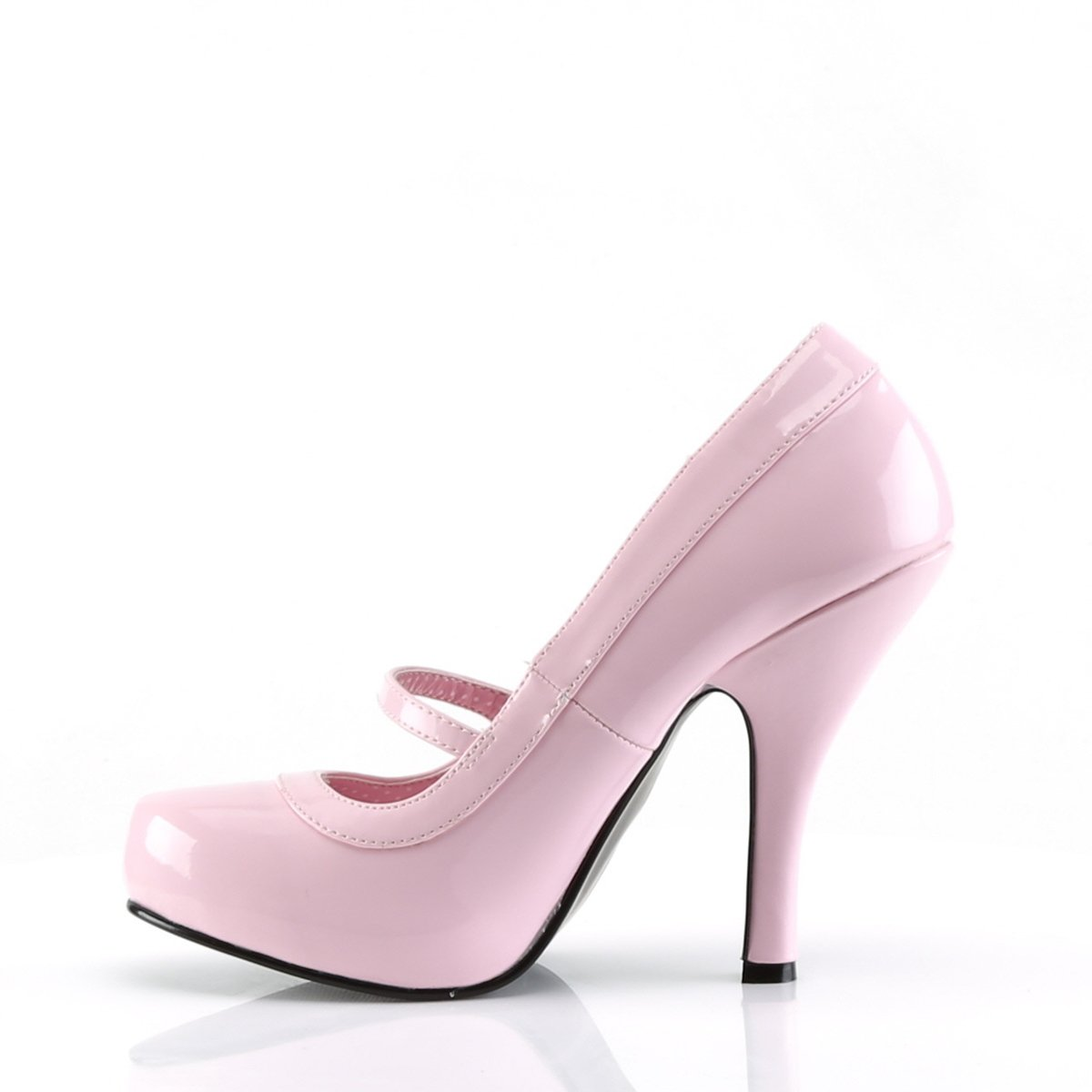 4 1//2 Inch Heel Mary Jane Pump Pinup Couture CUTIEPIE-02