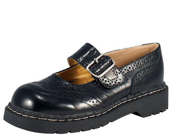 TUK-T1002 Brogue Mary Jane Shoes