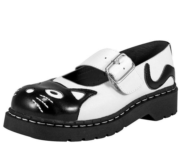 TUK-T2006 Classic Kitty Mary Jane Shoes
