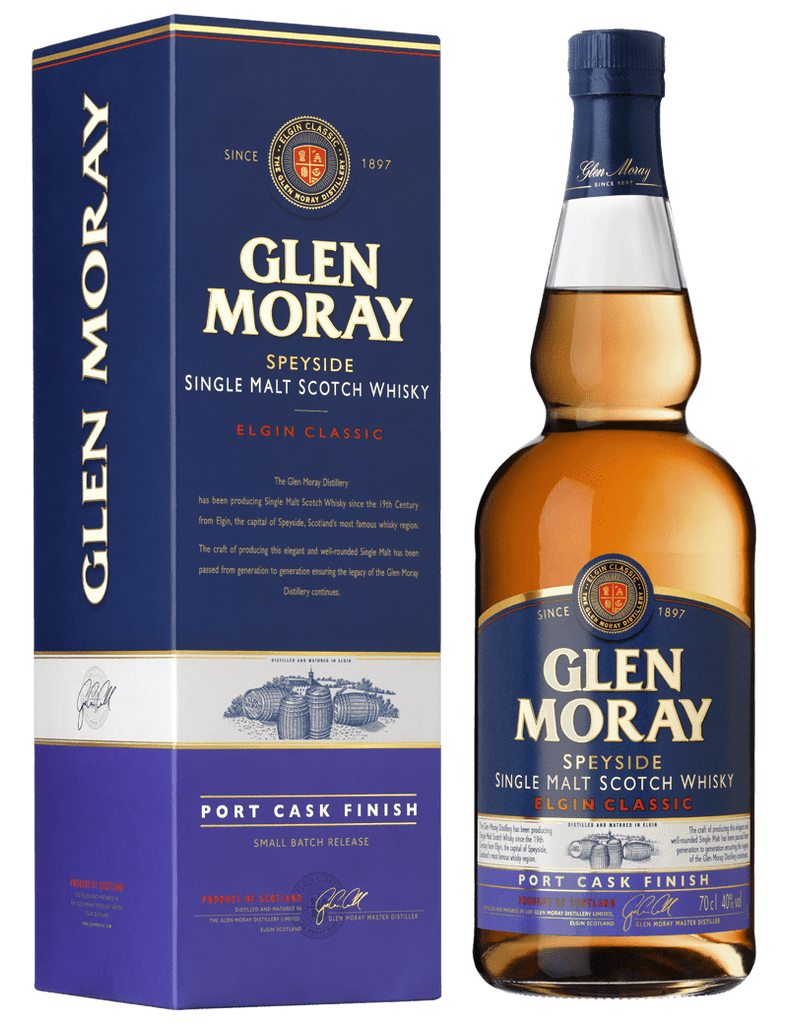 Glen Moray Single Malt Classic Port Cask Finish