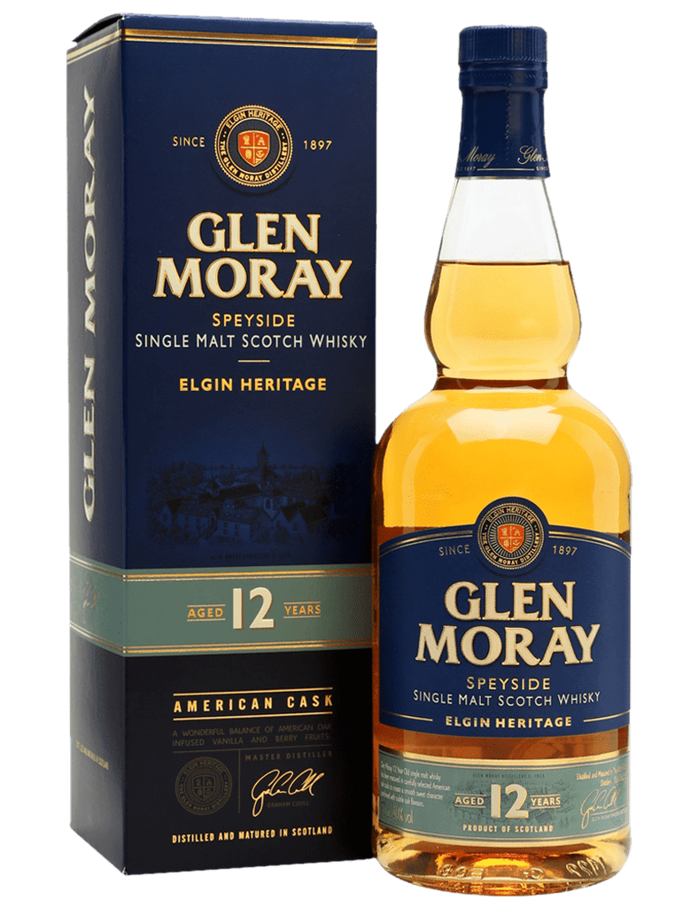 Glen Moray Single Malt 12 Year Old