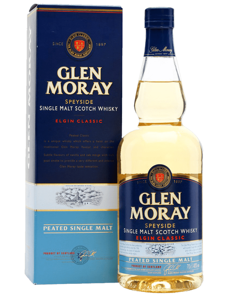 Glen Moray Single Malt Classic Peated