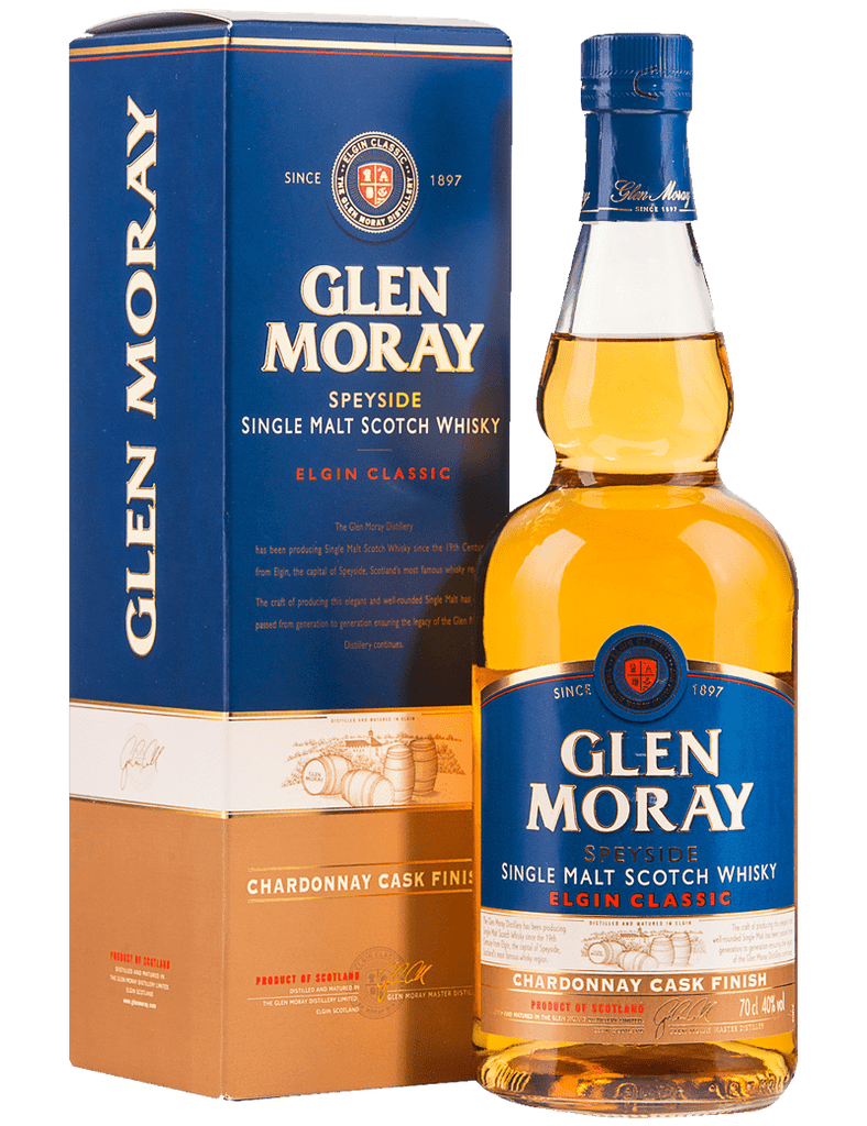 Glen Moray Single Malt Classic Chardonnay Finish