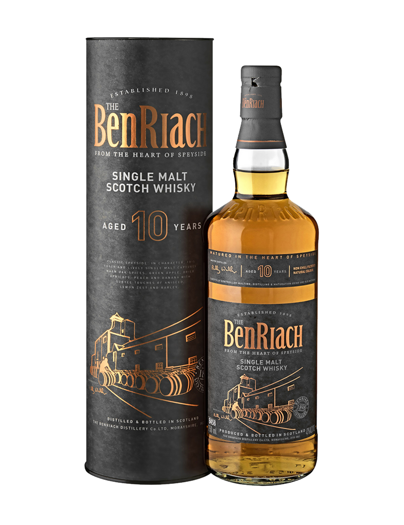 BenRiach 10 Year Old Single Malt 700ml Promo