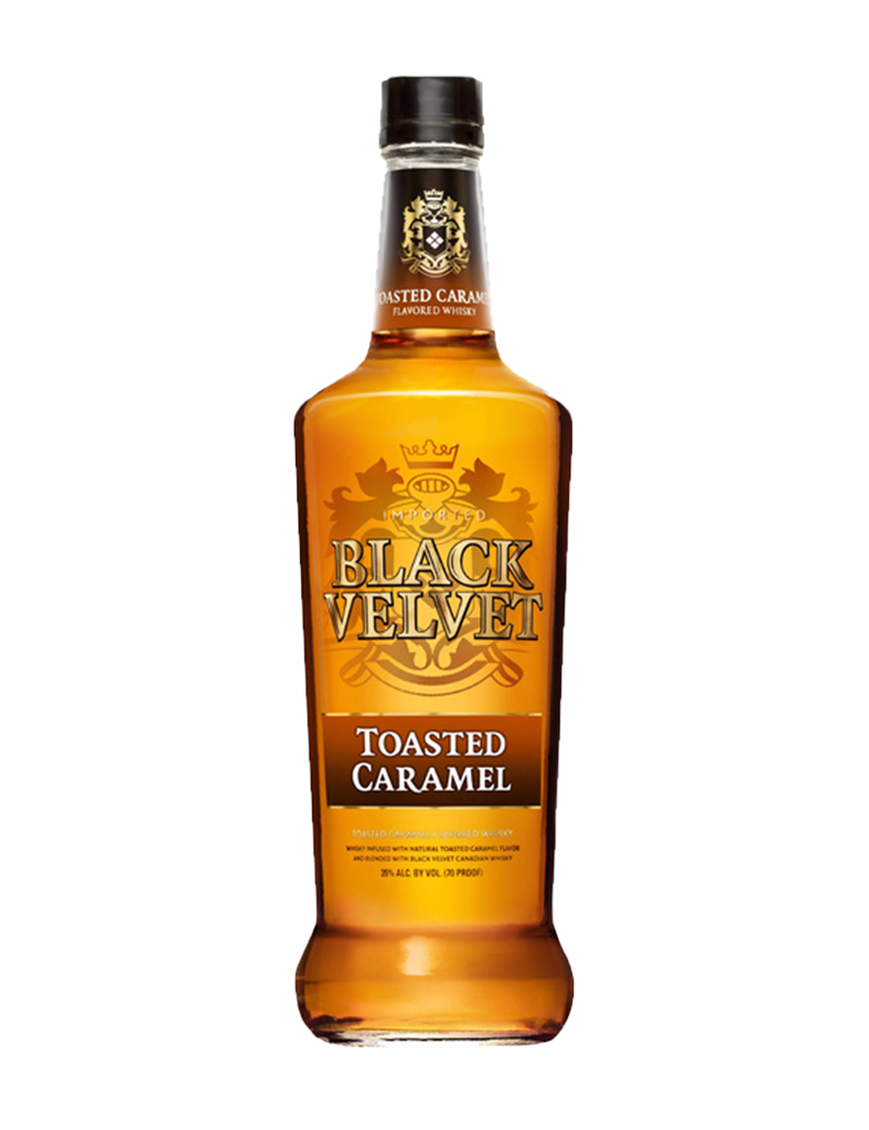 Black Velvet Toasted Caramel Whisky 750ml