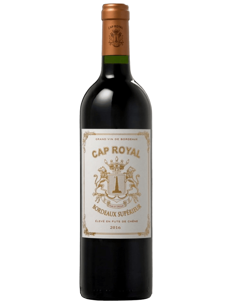 Cap Royal Rouge Bordeaux Superieur 2015