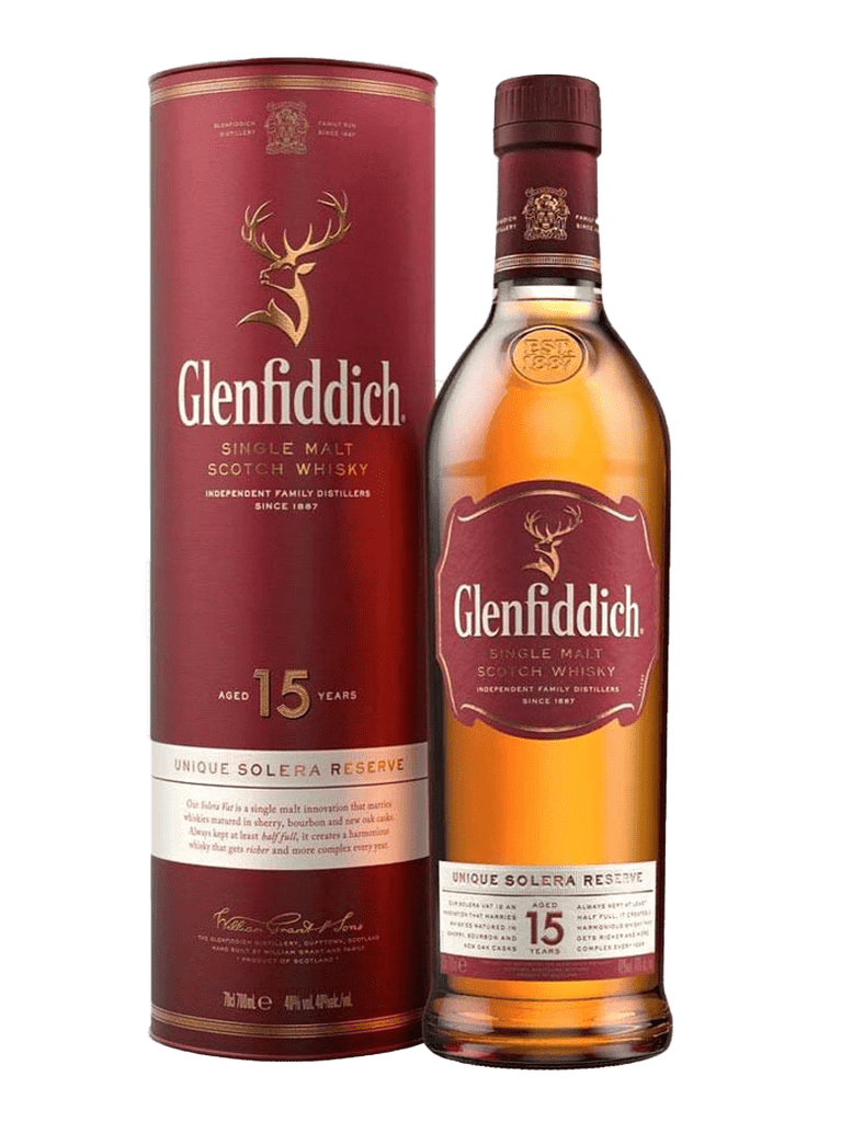 Glenfiddich 15 yo Single Malt 700ml
