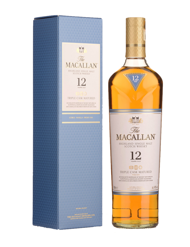 MACALLAN 12YO TRIPLE CASK MATURED 700ML