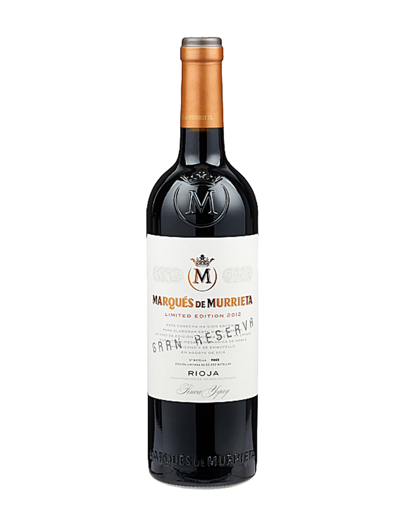Marques de Murrieta Limited Edition Gran Reserva 2012 750ml