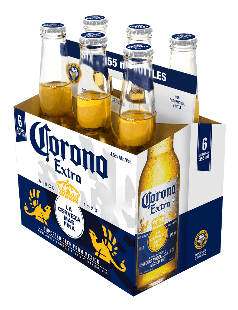 Corona Extra Beer 355ml 6 Pack