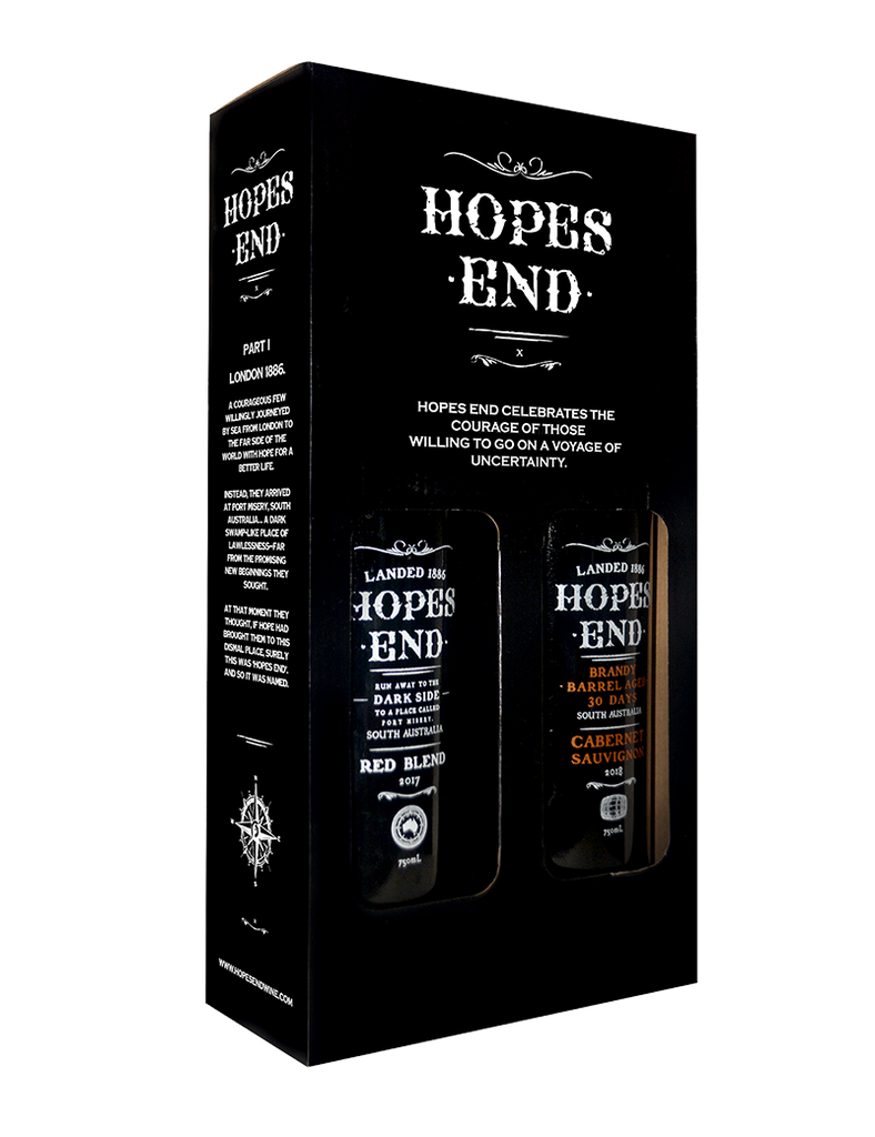 Hopes End Red Blend & Cabernet Sauvignon Twin Pack