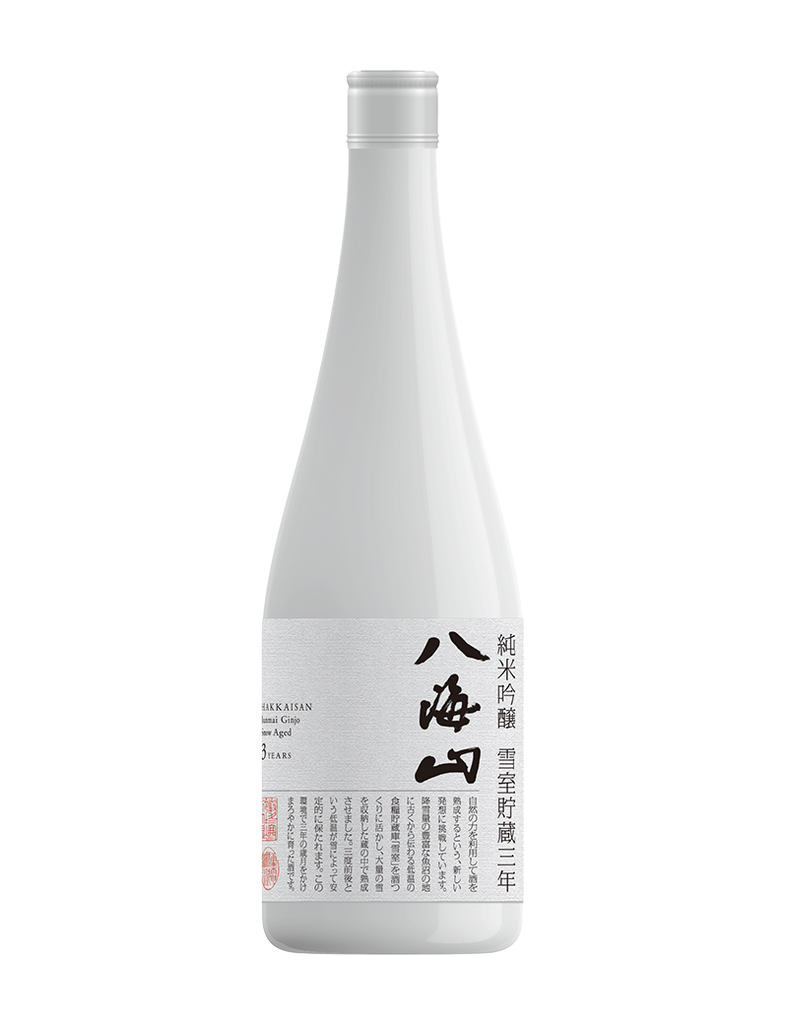 Hakkaisan Junmai Ginjo Snow-Aged 3 Years 720ml