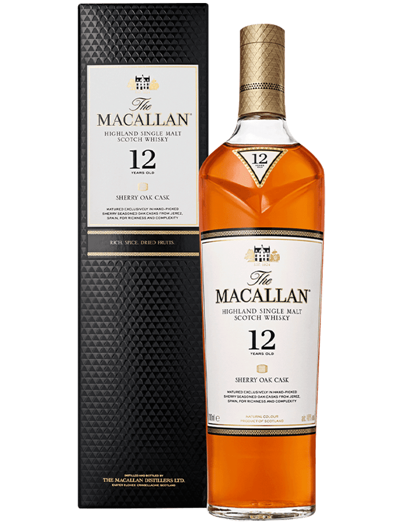 Macallan 12YO Sherry Oak Cask 700ml - Ralph's Wines & Spirits
