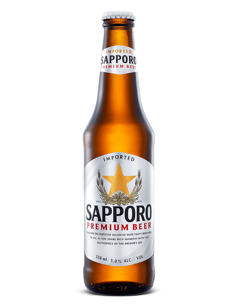 Sapporo Premium Beer Bottle 330ml - Ralph's Wines & Spirits
