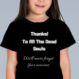 Thanks To Dead Souls - fashion fitness