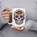 Decorative Skull Mug - fashion fitness