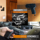 Safeguard Magnetic Gun Mount for your Home Car or RV