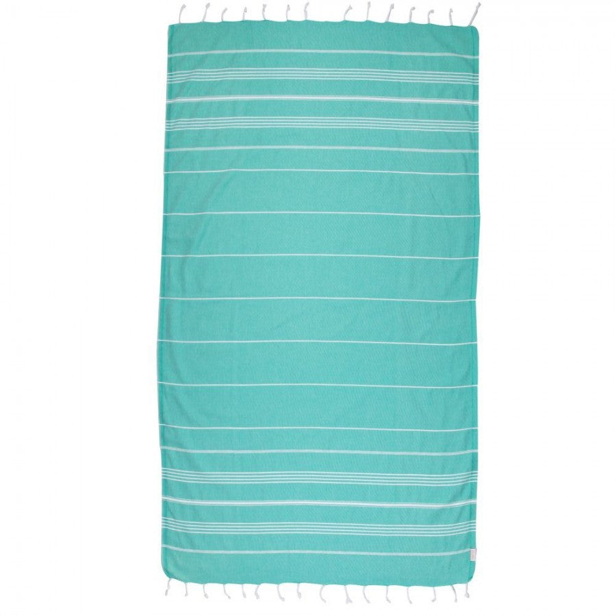 Classic Turkish Peshtemal Towel 100% Cotton Mint Green