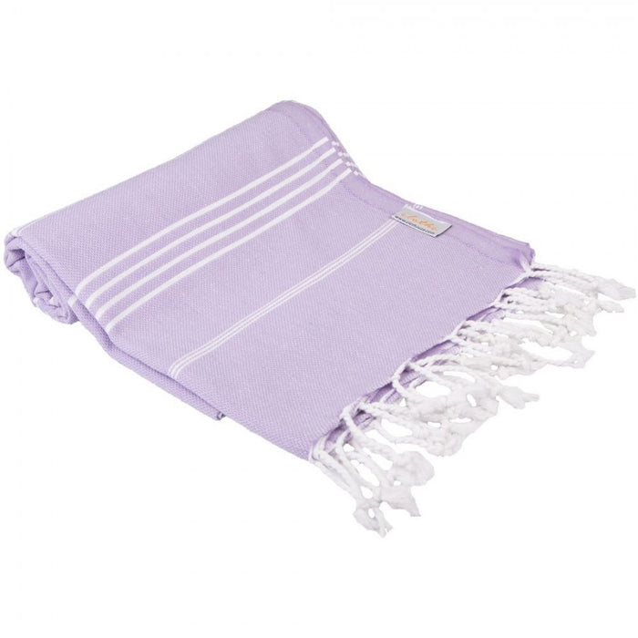 Classic Turkish Peshtemal Towel 100% Cotton Lilac