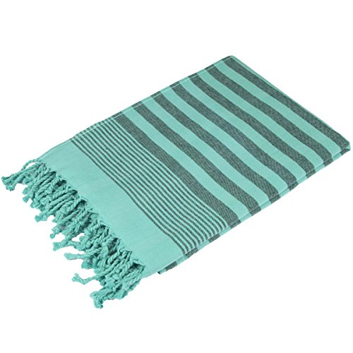 Terry Peshtemal Towel 100% Cotton Mint Green