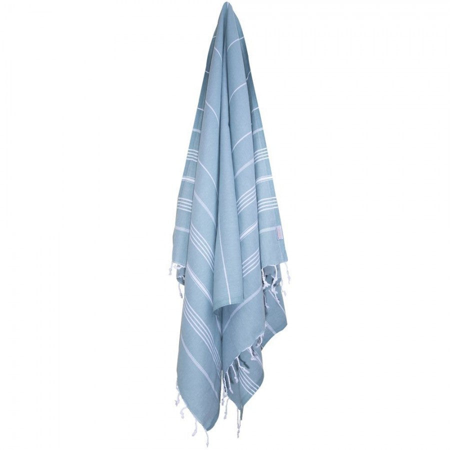 Classic Turkish Peshtemal Towel 100% Cotton Dark Green