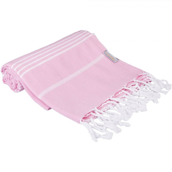 Classic Turkish Peshtemal Towel 100% Cotton Flamingo