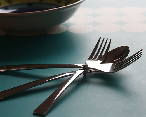 iFork Line Handcrafted 30 Piece Set - Nesting Design, intelligently designed Flatware by iFork