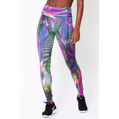 Holographic Print Leggings