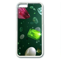 Emerald and Glitter Diamond Case For iPhone