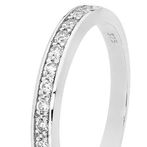 CZ Anniversary Ring - Ottery Jewellery
