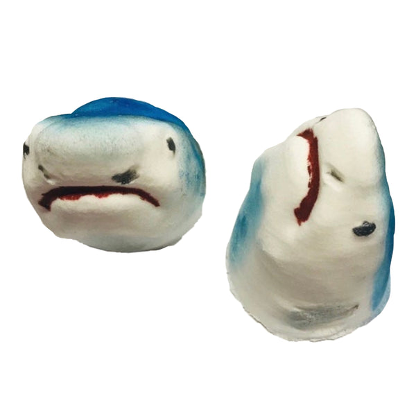 "Shark Bath Bomb ""bleeds"" red"