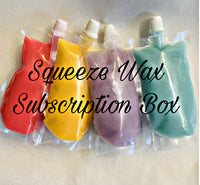 Squeeze wax subscription mystery box