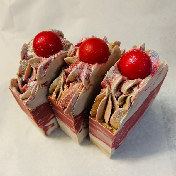 Peppermint candy bar soap