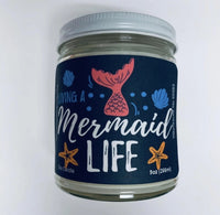 Mermaid life Candle