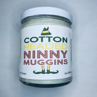 Cotton headed ninny muggins Candle