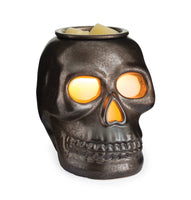 Skull wax warmer, wax burner