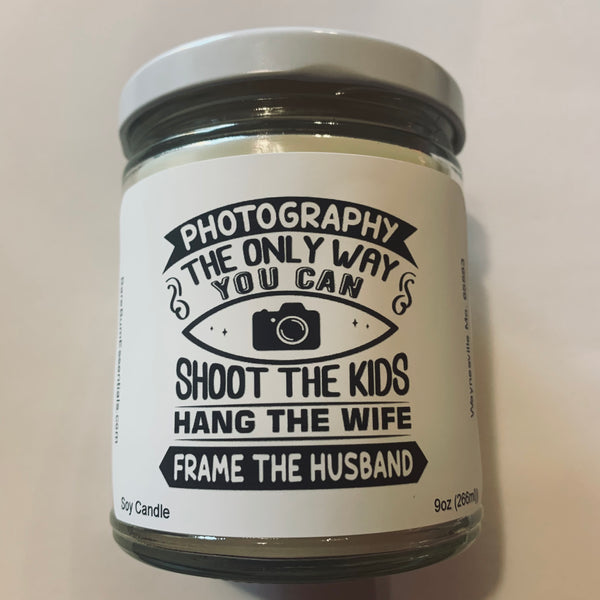 Funny photography Candle
