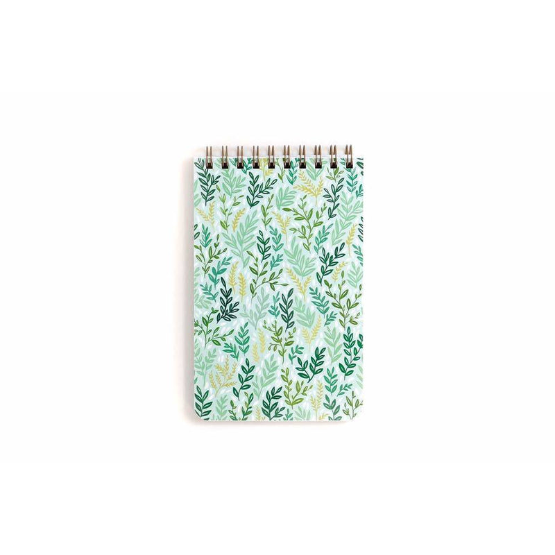 1CANOE2 : LARGE MINT MEADOW NOTEBOOK - Frills Boutique