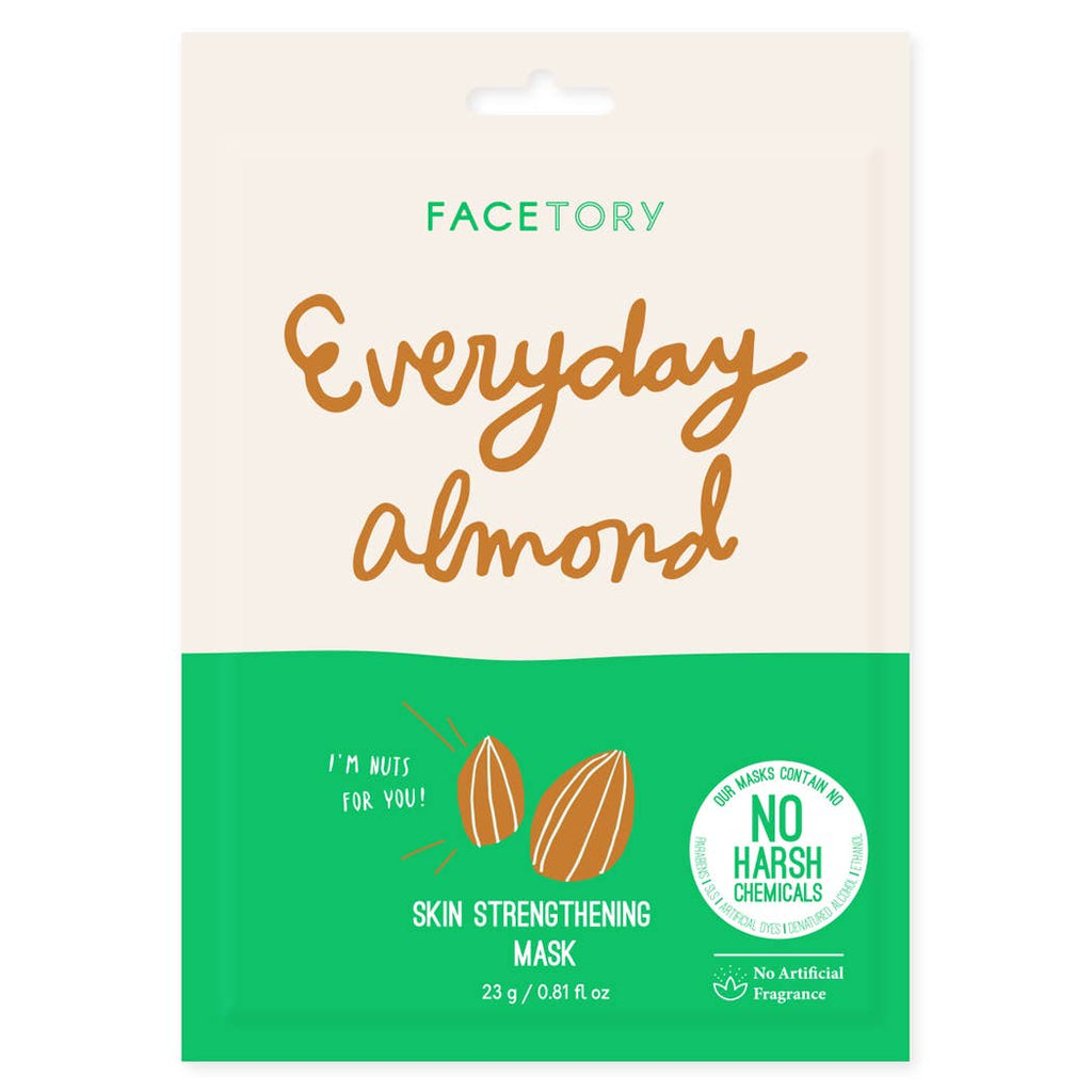 FACETORY : Everyday, Almond Skin Strengthening Mask - Frills Boutique