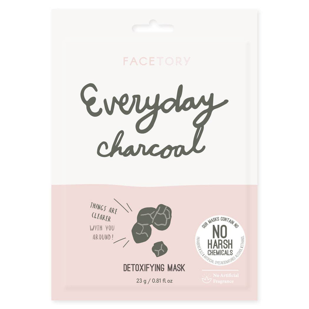 FACETORY : Everyday, Charcoal Detoxifying Mask - Frills Boutique