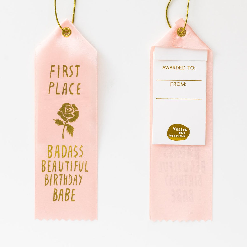 AWARD RIBBON | BIRTHDAY BABE - Frills on Fourth