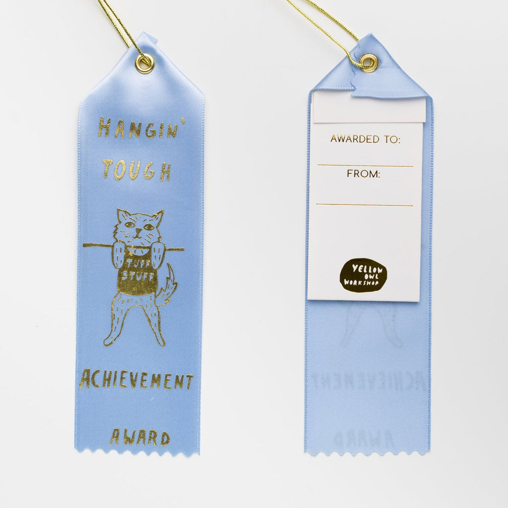 AWARD RIBBON | HANGIN' TOUGH - Frills on Fourth