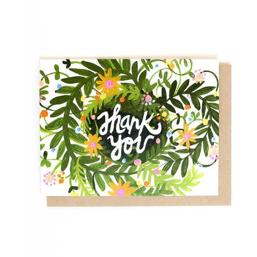 THANK YOU CARD | SPRING BLOOMS THANK YOU - Frills Boutique