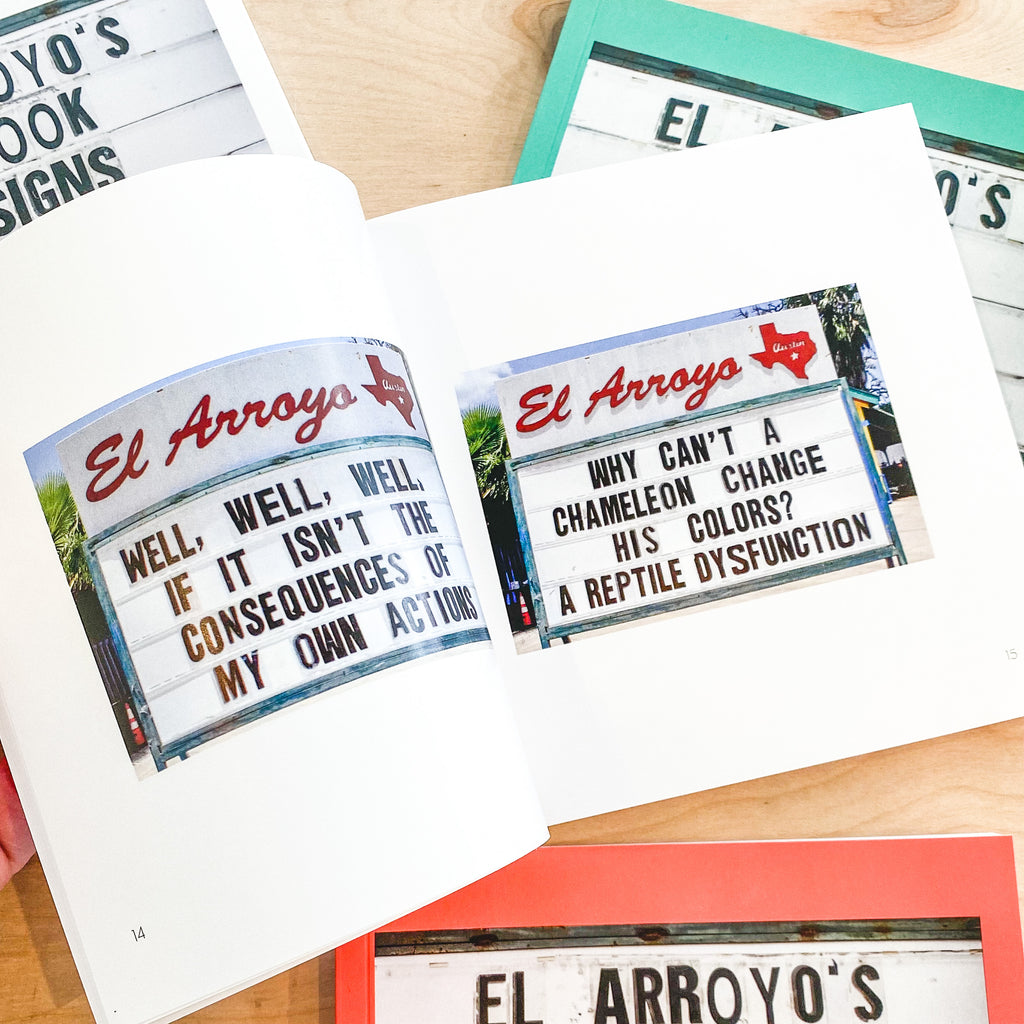EL ARROYO'S MINI BOOK OF SIGNS - Frills on Fourth
