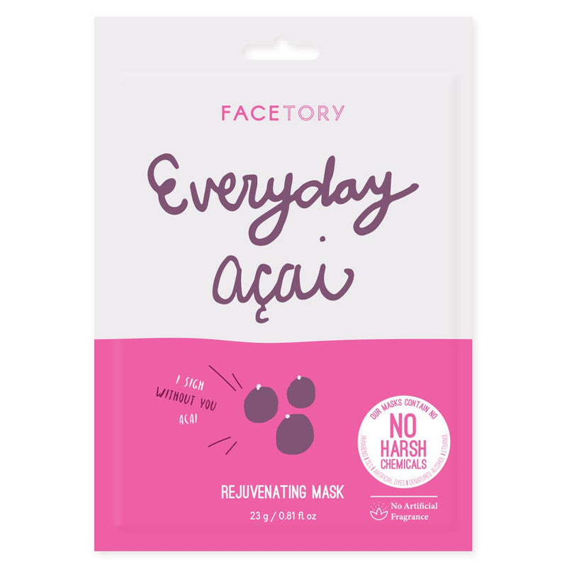 FACETORY : Everyday, Acai Rejuvenating Mask - Frills Boutique