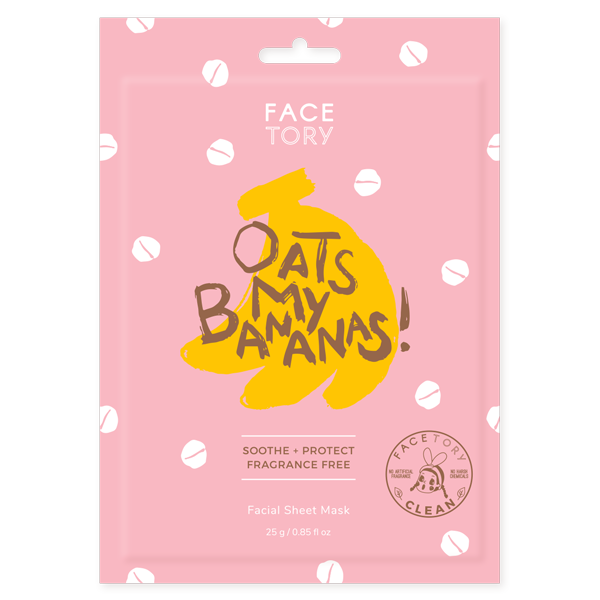FACETORY : Oats My Banana Mask - Frills Boutique
