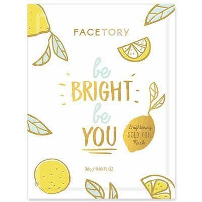 FACETORY : Be Bright Be You Brightening Foil Mask - Frills Boutique