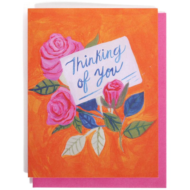 GREETING CARD | THINKING OF YOU - Frills on Fourth