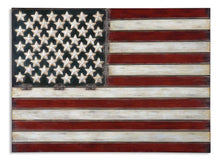 American Flag (Metal Wall Decor)