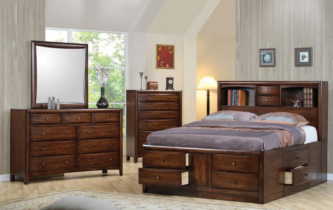 KING 5PC SET (KE.BED,NS,DR,MR,CH)
